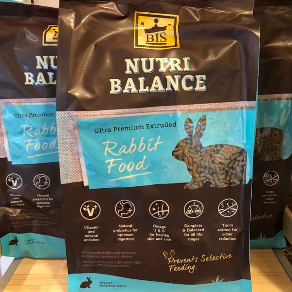 Nutri balance - Thức ăn viên nén cân bằng dinh dưỡng cho Thỏ